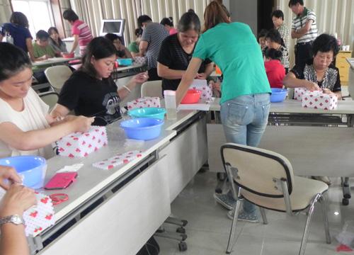 北京 门头沟区/巧娘学习制作串珠纸巾盒