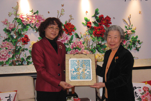 佐佐木女士介绍了日本妇女生活